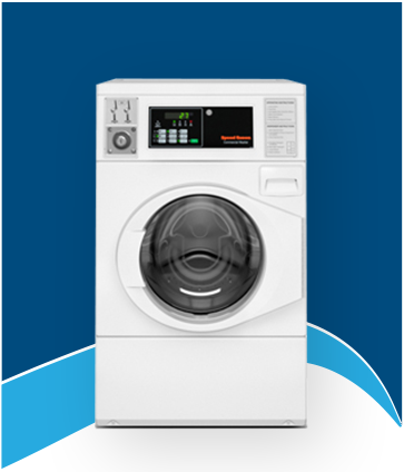 Front Load Coin Operated Washing Machine